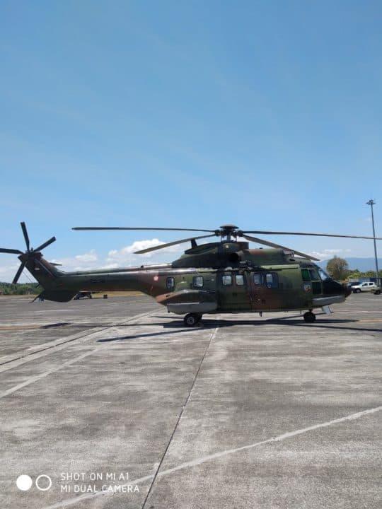 Elang Ausindo 2019: Super Puma TNI AU Turut Beri Dukungan