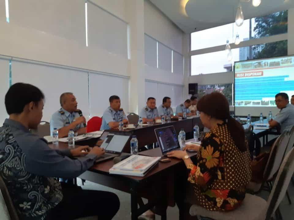 Perwakilan Satker TNI AU Ikuti Desk Evaluasi Zona Integritas Kemenpan RB