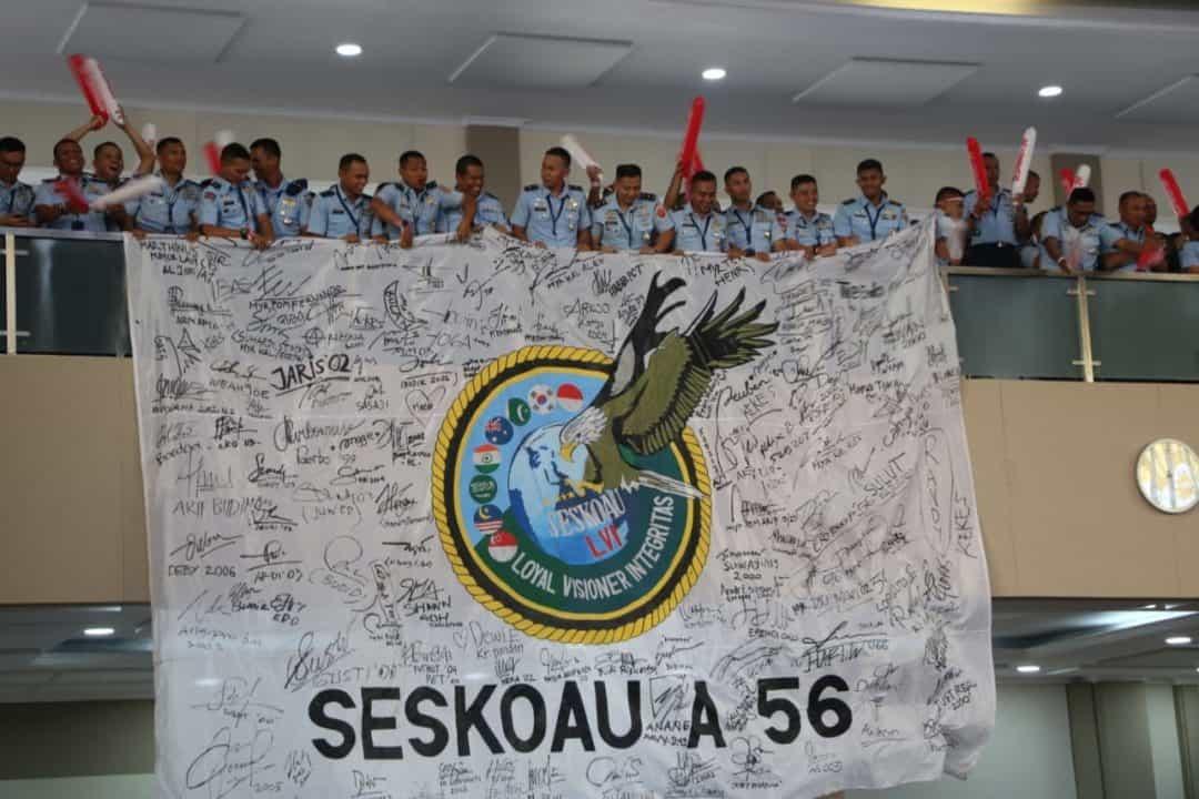 PERWIRA SISWA SESKOAU A-56 TP. 2019 IKUTI PROGRAM KEGIATAN BERSAMA KEJUANGAN DI SESKOAL