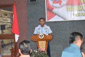 Danlanud Bny Menghadiri Coffee Morning bersama Korem 043/Gatam dan Insan Pers Lampung