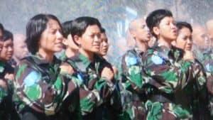 Orientasi Pendidikan Militer Siswa Semaba Wara Angkatan 44