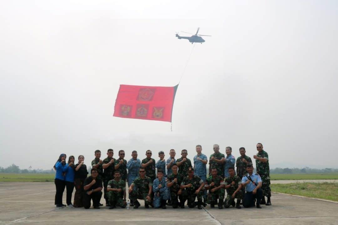 Kasau Tinjau Latihan Giant Flag Underslung Di Lanud Atang Sendjaja