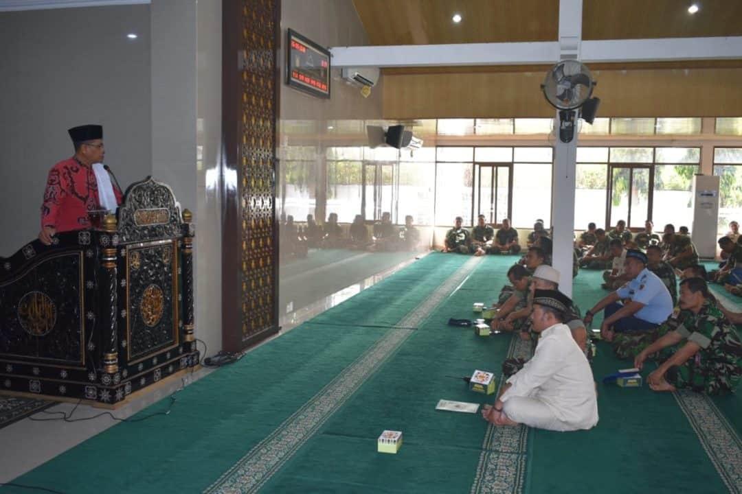 Peringatan Tahun Baru Islam 1441 Hijriah di Masjid Abdurrachim Lanud Adisutjipto