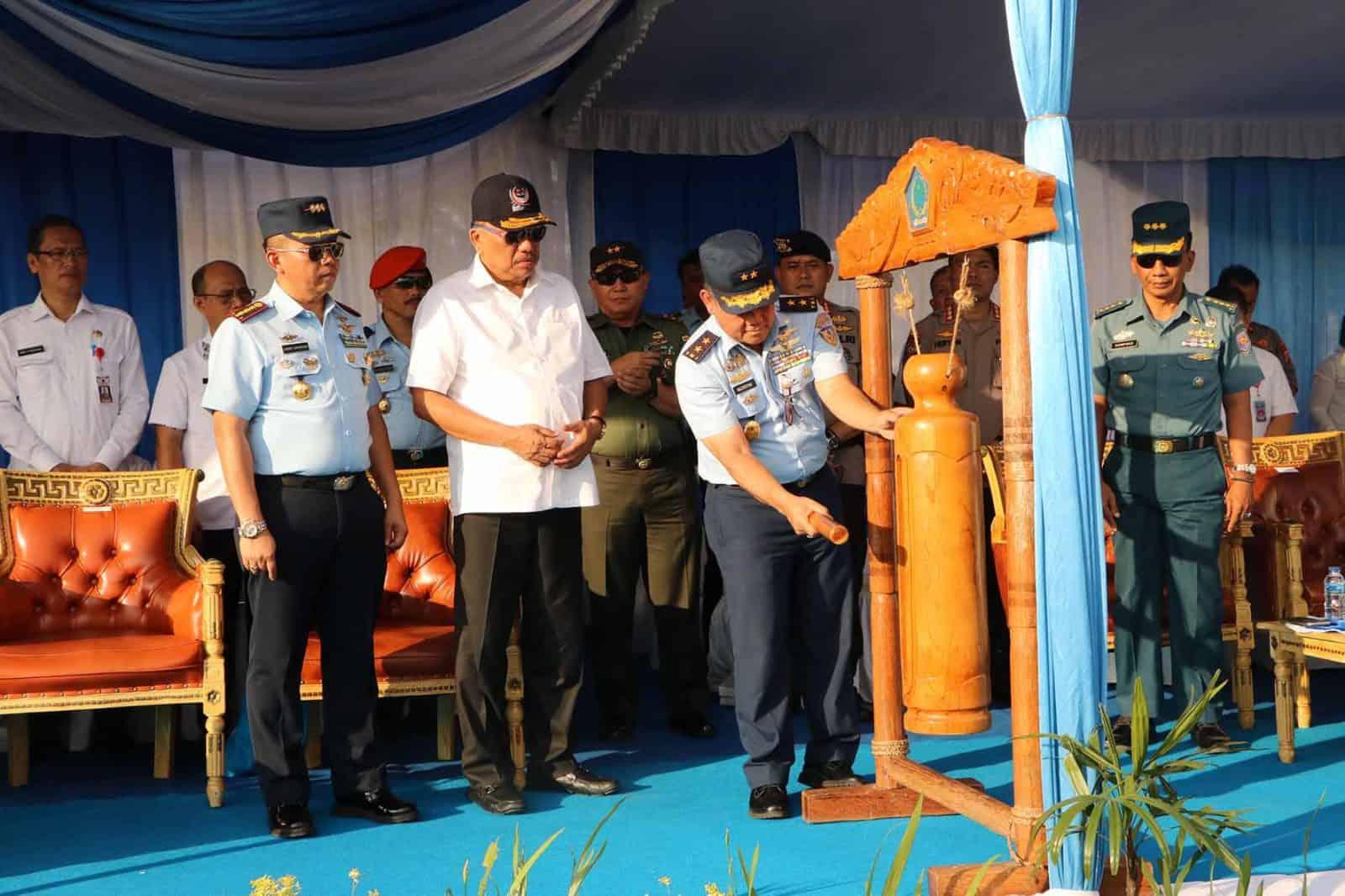 Kapen Korpaskhas Pimpin Demo Terjun Pelangi Nusantara TA. 2019