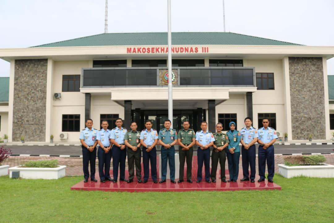 Tim Irjen TNI Gelar Bimtek Reformasi Birokrasi TNI Di Makosekhanudnas III