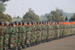 298 PRAJURIT TNI AU IKUTI SUSPARADAS A-187 DI LANUD SULAIMAN