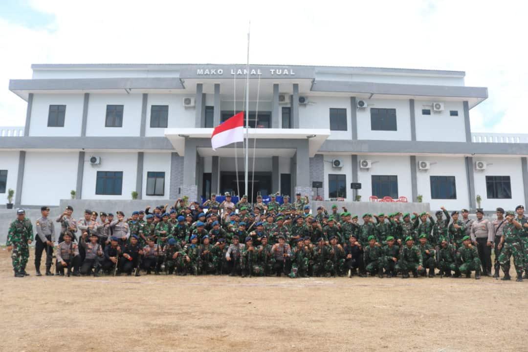 Lanud D. Dumatubun Lomba Permildas Dalam Rangka Ke 74 HUT TNI Tahun 2019