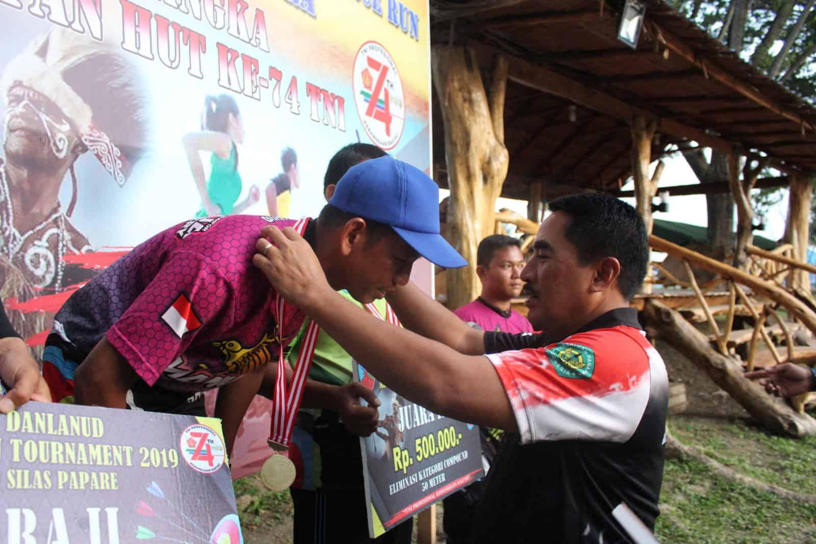 Danlanud Silas Papare menutup Archery Open Tournament