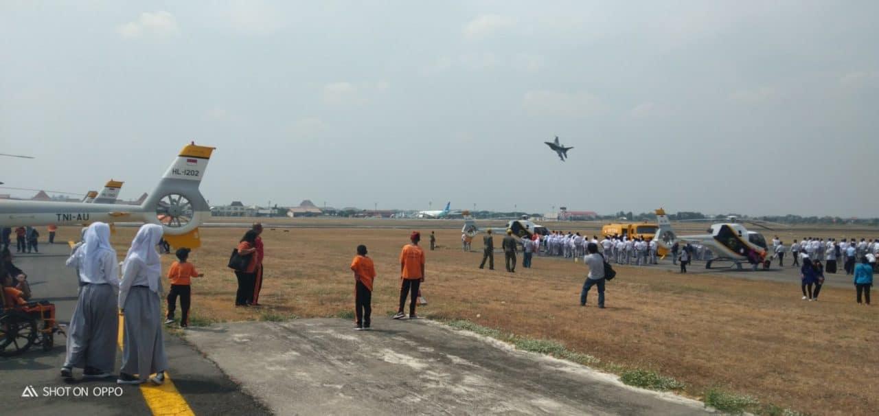 Pesawat Tempur F-16, T-50 Dan Heli Colibri Semarakkan Lanud Adi Soemarmo Open Base 2019