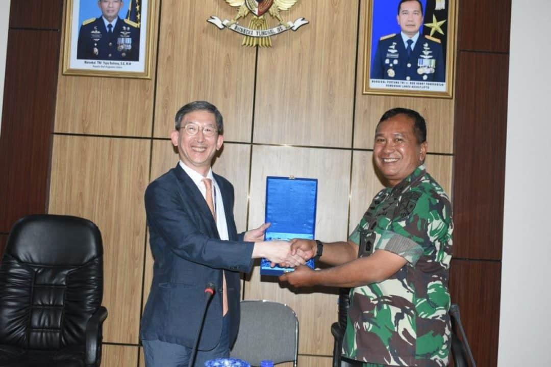Lanud Adisutjipto Terima Kunjungan Delegasi Korean National Defence University