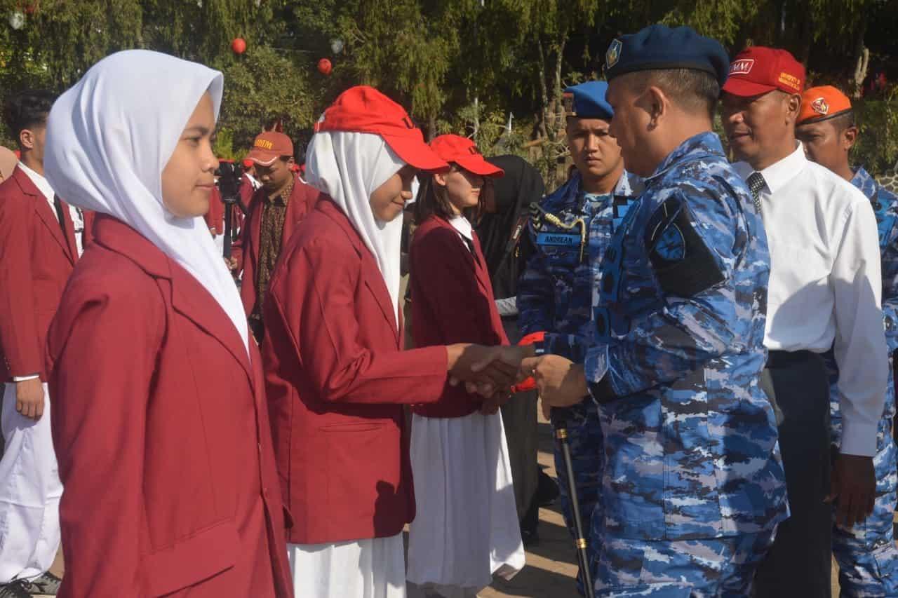 Komandan Lanud Abdulrachman Saleh Berada di Tengah-tengah Mahasiswa Baru UMM