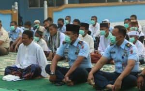Lanud Iskandar Laksanakan Shalat Meminta Hujan (Istisqa)