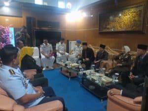 Danlanud RHF Hadiri Rapat Paripurna Pelantikan Anggota DPRD Tanjungpinang Periode 2019-2024