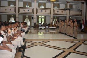 AAU Menjadi Model Peningkatan Disiplin SMA Taruna Gajah Mada Lampung