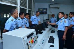 Kasau Kunjungi Lakespra dr. Saryanto