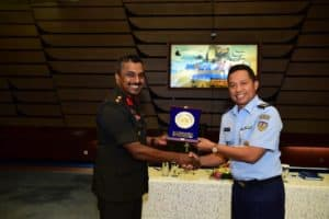 Tingkatkan Hubungan Bilateral, Delegasi DSCSC Sri Lanka Kunjungi Mabesau