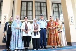 AAU Mendapat Kunjungan Ibu Negara