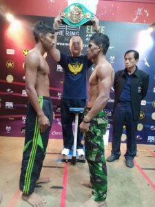 Tumbangkan jawara Thailand, Petinju TNI AU Rebut Sabuk WBC Internasional