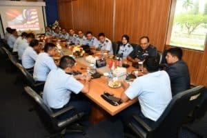 Perkuat Kerja Sama, Delegasi TUDM Kunjungi Mabesau