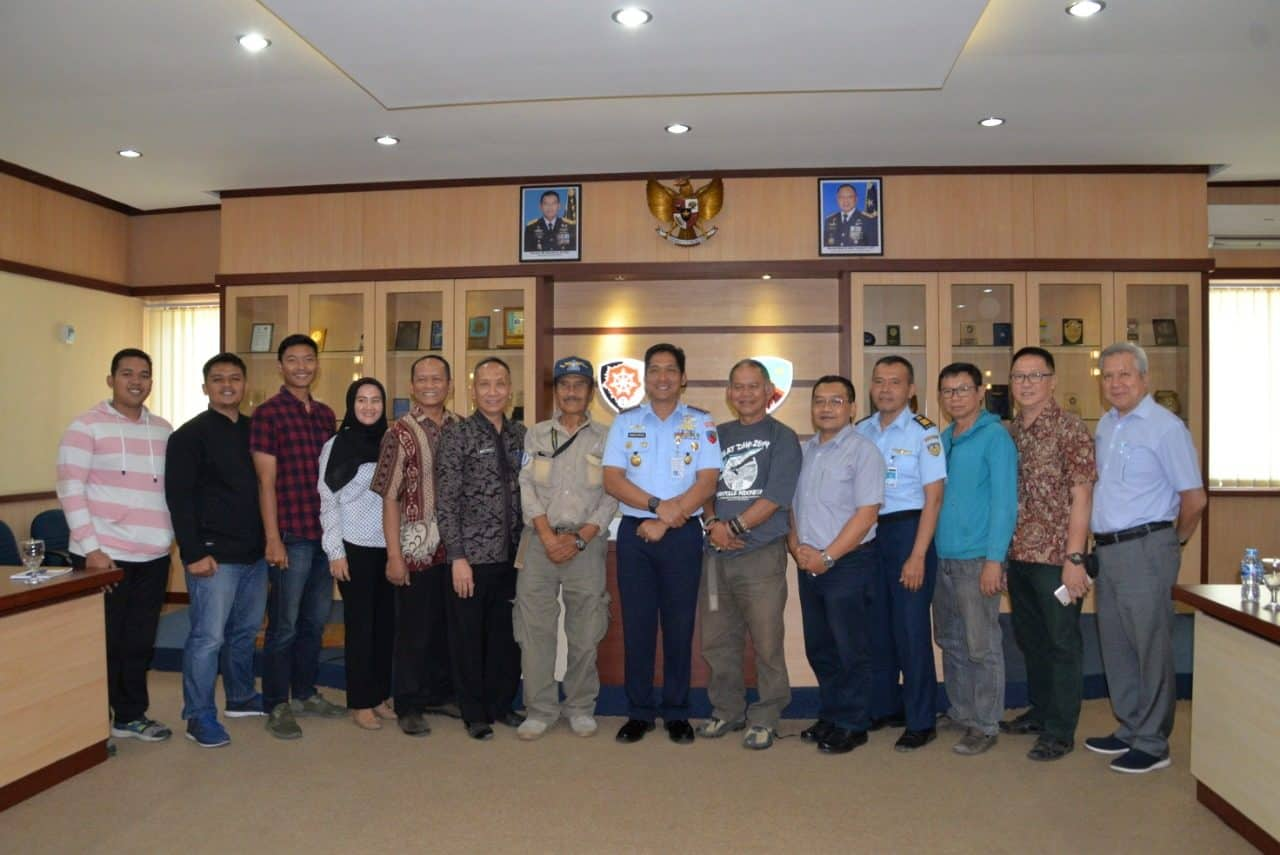 Danlanud Husein S. Silahturahmi dengan FASIDA Kota Bandung