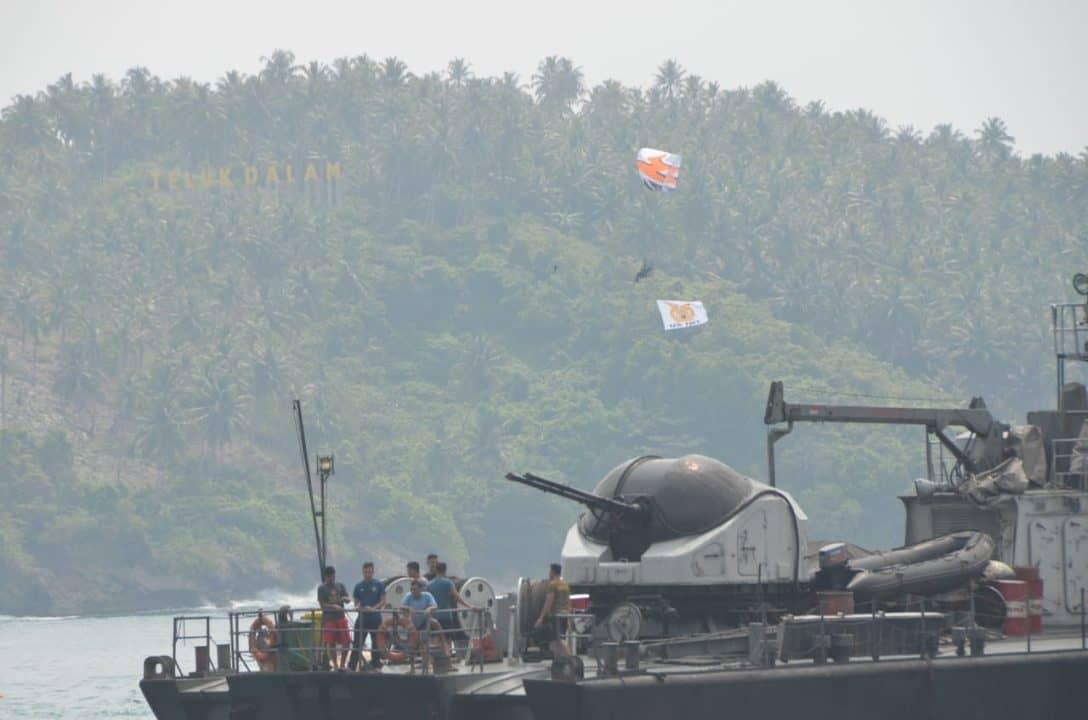 Sail Nias 2019: Latihan Demo Udara TNI AU Jelang Acara Puncak