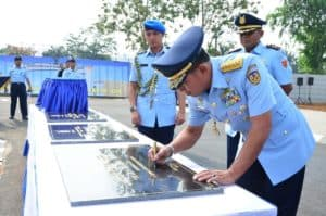 Tingkatkan Kemampuan Teknik Umum TNI AU, Kasau Resmikan Skadik 304