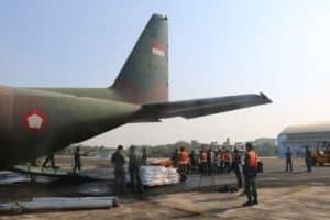 TNI AU Kerahkan Empat Pesawat untuk Tanggulangi Karhutla di Riau