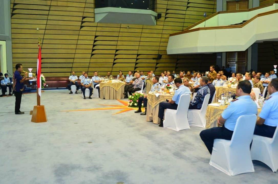 Pererat Silaturahmi dan Komunikasi, Kasau Bertemu Purnawirawan TNI AU