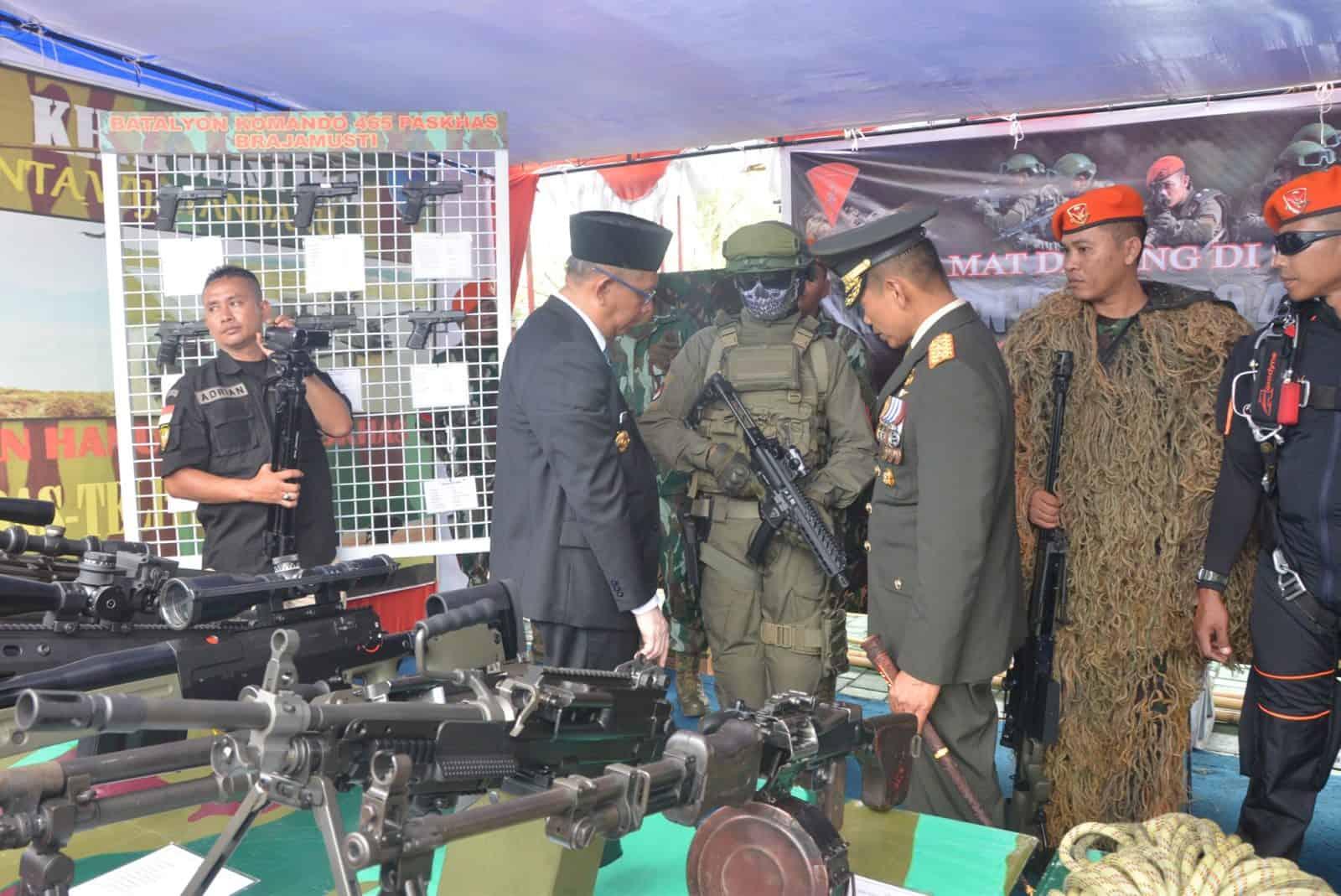 Lanud Supadio Ikuti Pameran Alutsista Dalam Rangka HUT Ke-74 TNI