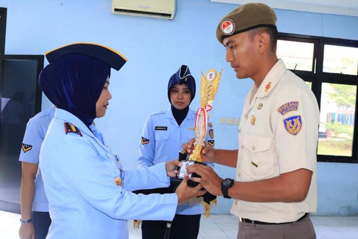 Danwingdikum tutup Diklatsarjemen CPNS TNI AU