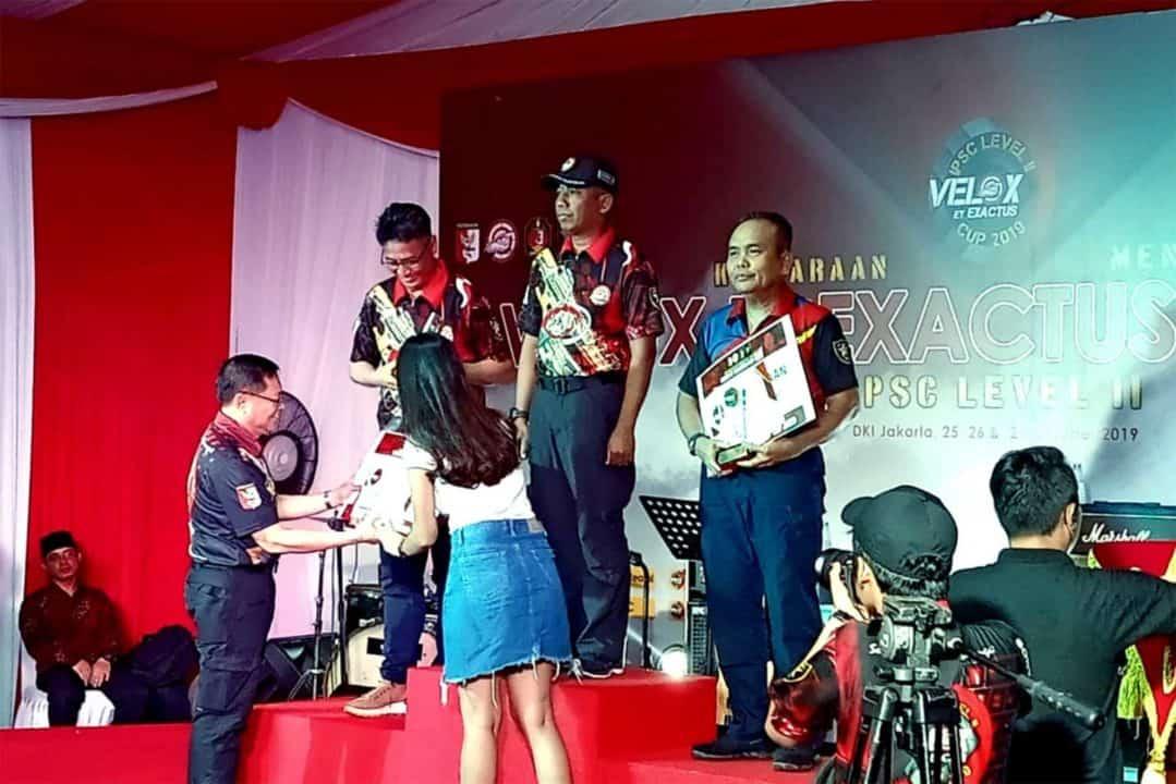 Korpaskhas Ikuti Kejuaraan Tembak Velox Et Exactus Cup 2019