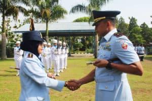 Mayor Adm Gusti Sopyannur, S.E Jabat Komandan Skadik 501