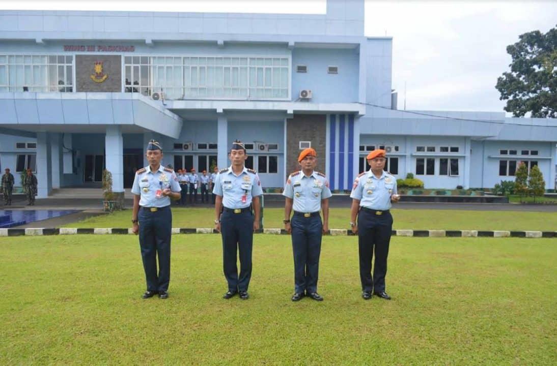 Upacara Sumpah Pemuda di Wing III Paskhas