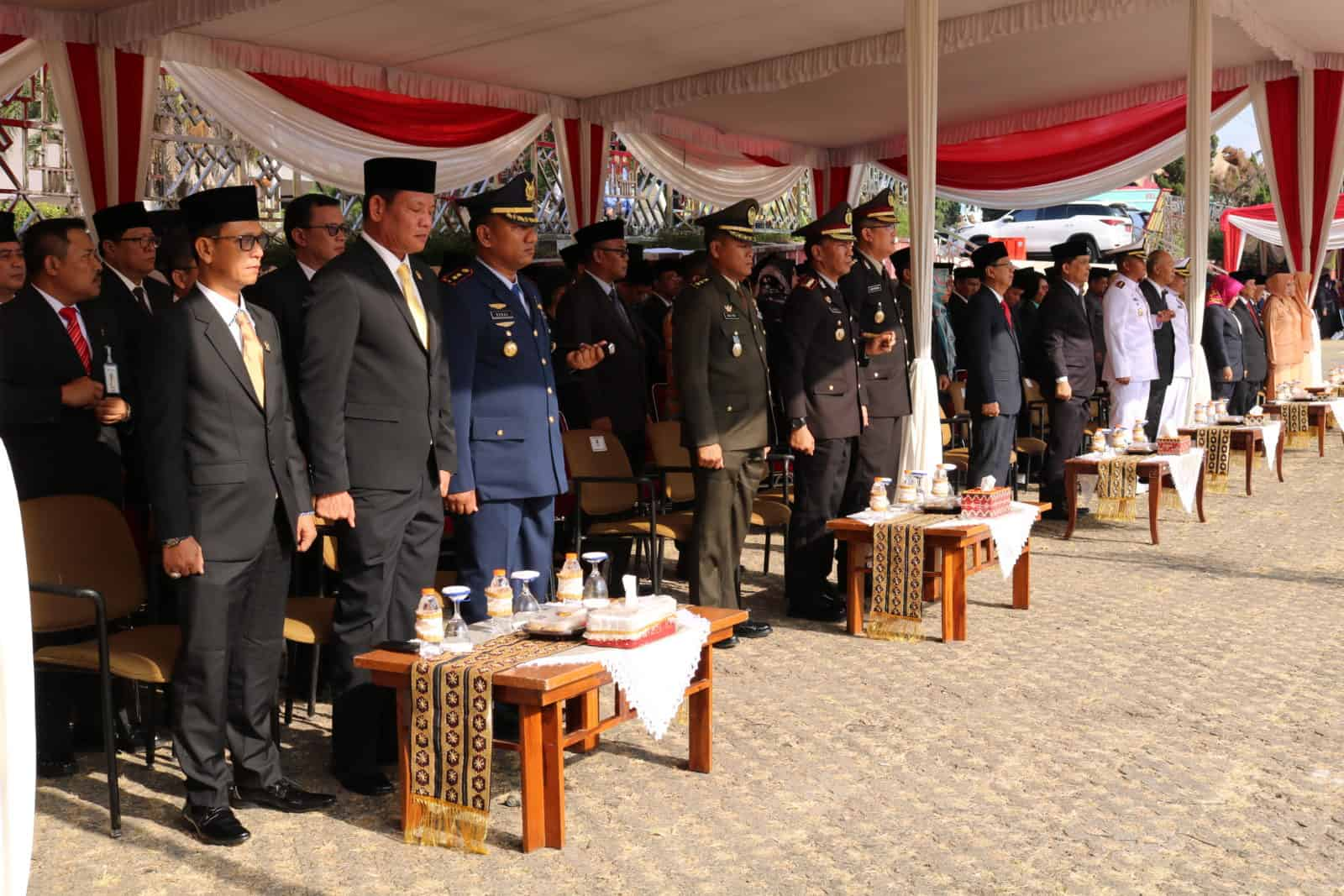 Upacara Hari Kesaktian Pancasila di Provinsi Lampung