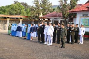 Ziarah Nasional dalam Rangka HUT TNI ke-74 di Provinsi Lampung