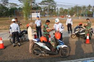 Operasi Pekan Disiplin Satpom Lanud BNY