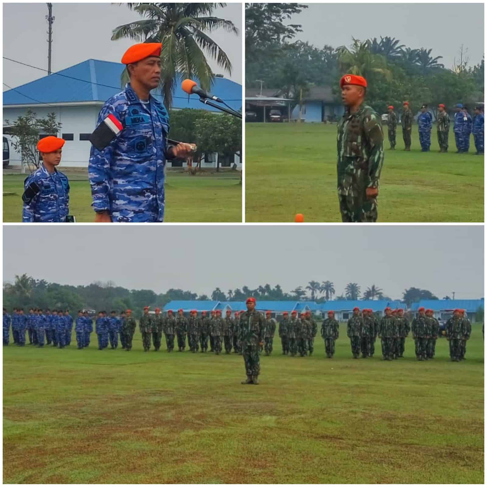 Danlanud Soewondo Pimpin Apel Khusus HUT Ke-72 Korpaskhas Tahun 2019 di Wilayah Medan.