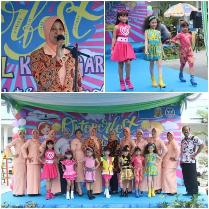 Yasarini Cabang Lanud Soewondo Laksanakan Oktober Fest Angkasa School Kindergarten