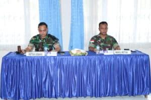 Danlanud J.A.Dimara Pimpin Pantokhirda Calon Prajurit TNI Angkatan Udara