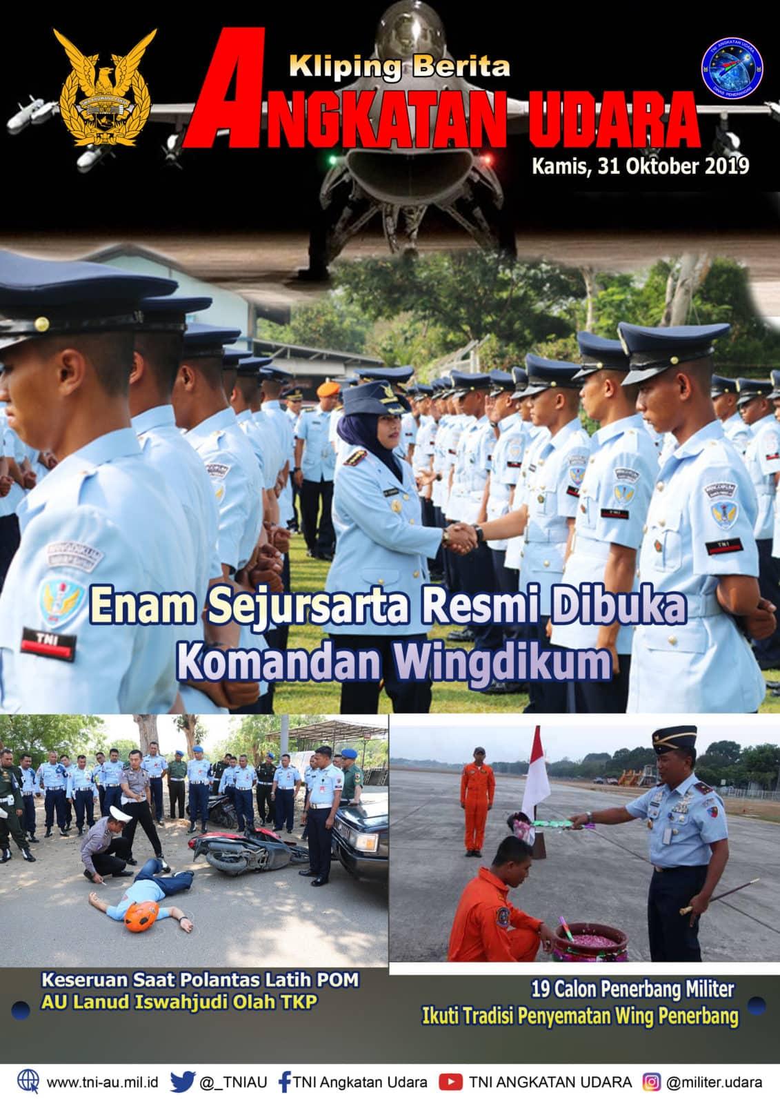Kliping Berita Media 31 Oktober 2019