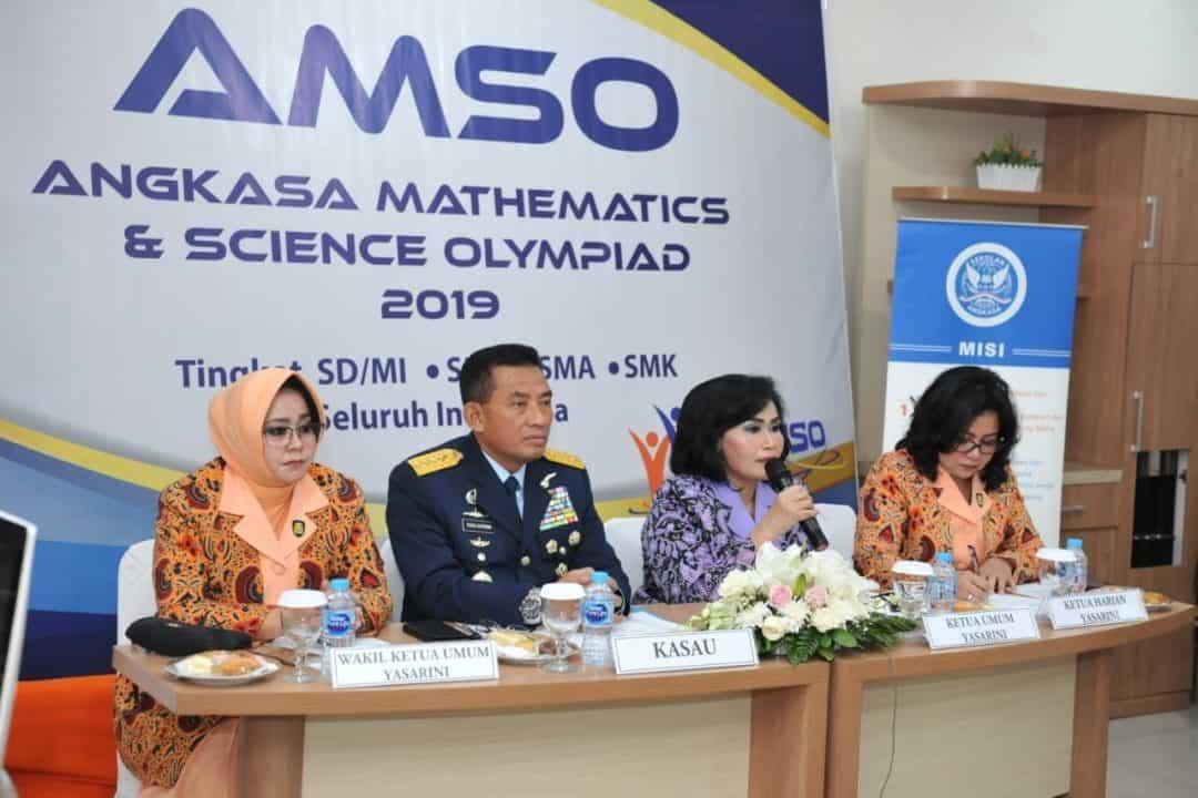Yasarini Gelar AMSO Bagi Siswa-siswi Sekolah Angkasa