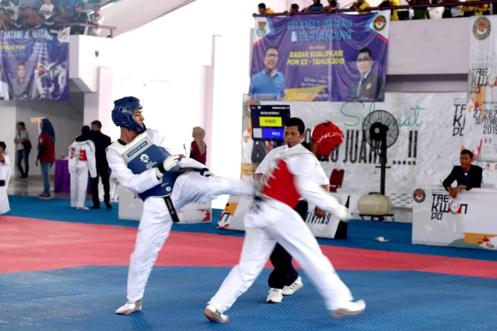 Atlet Doojang Taekwondo Yonko 462 Paskhas Raih Medali Di Kejuaraan Pra-Pon Taekwondo 2020