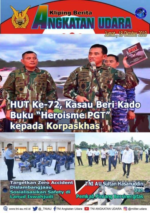 Kliping Berita Media 18 Oktober 2019