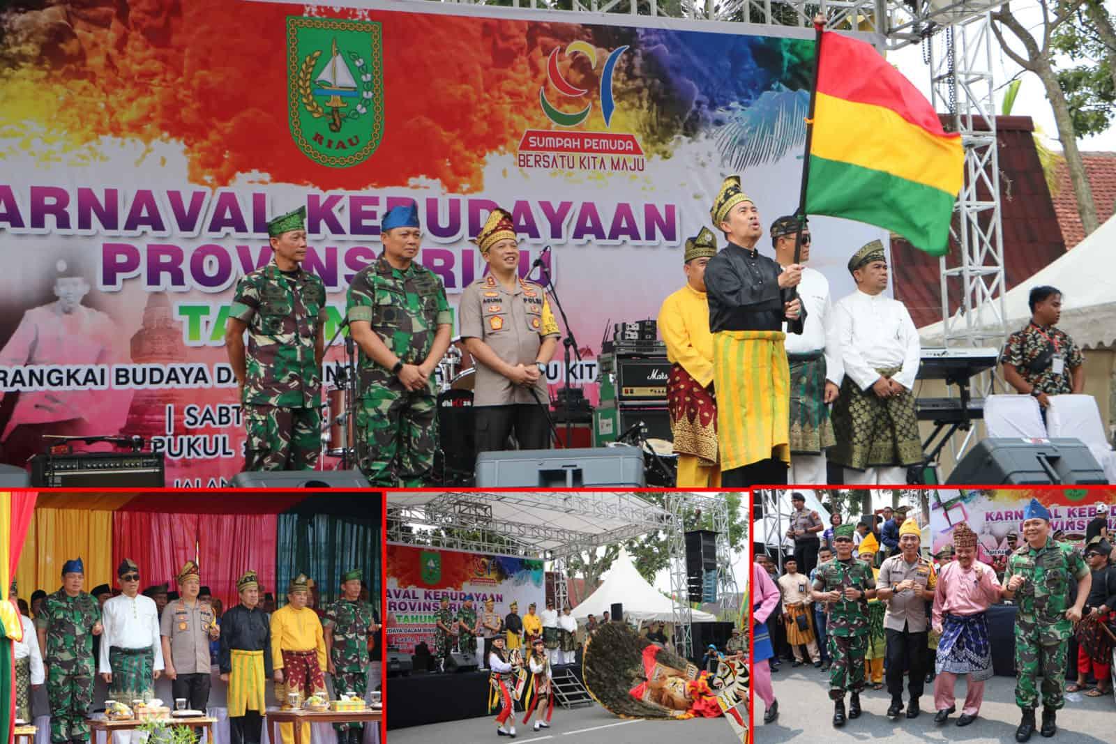 Danlanud Rsn Hadiri Karnaval Budaya Peringatan Sumpah Pemuda