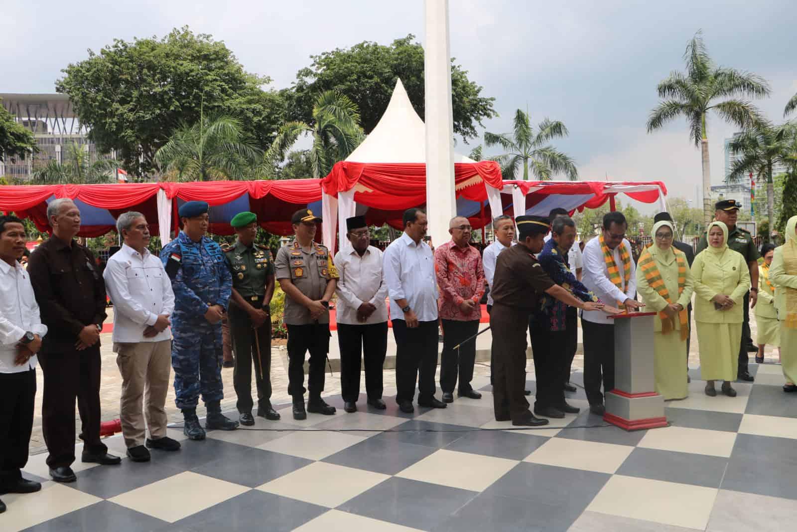 Danlanud Rsn Hadiri Peresmian Gedung Kejati Riau
