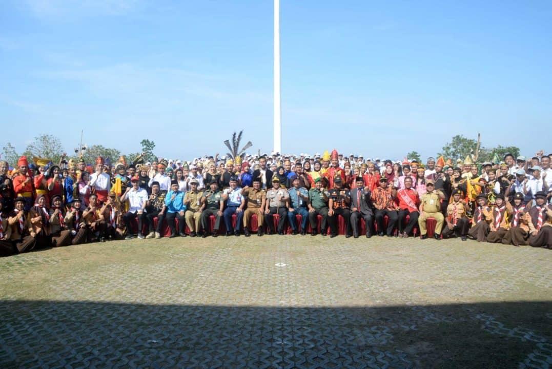 Komandan Lanud Sjamsudin Noor Mengikuti Upacara Hari Sumpah Pemuda ke-91 di Kalimantan Selatan