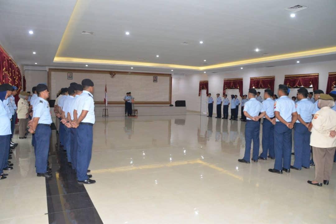 Panglima Kosekhanudnas III Pimpin Upacara Kenaikan Pangkat