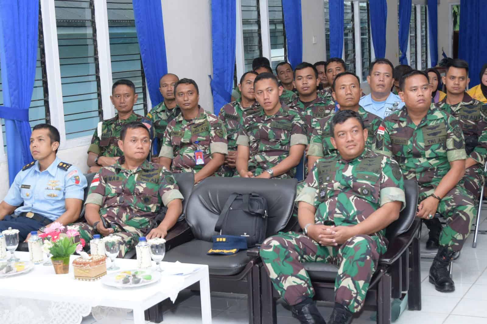 Sosialisasi Lambangja Road to Zero Accident di Lanud Raja Haji Fisabilillah