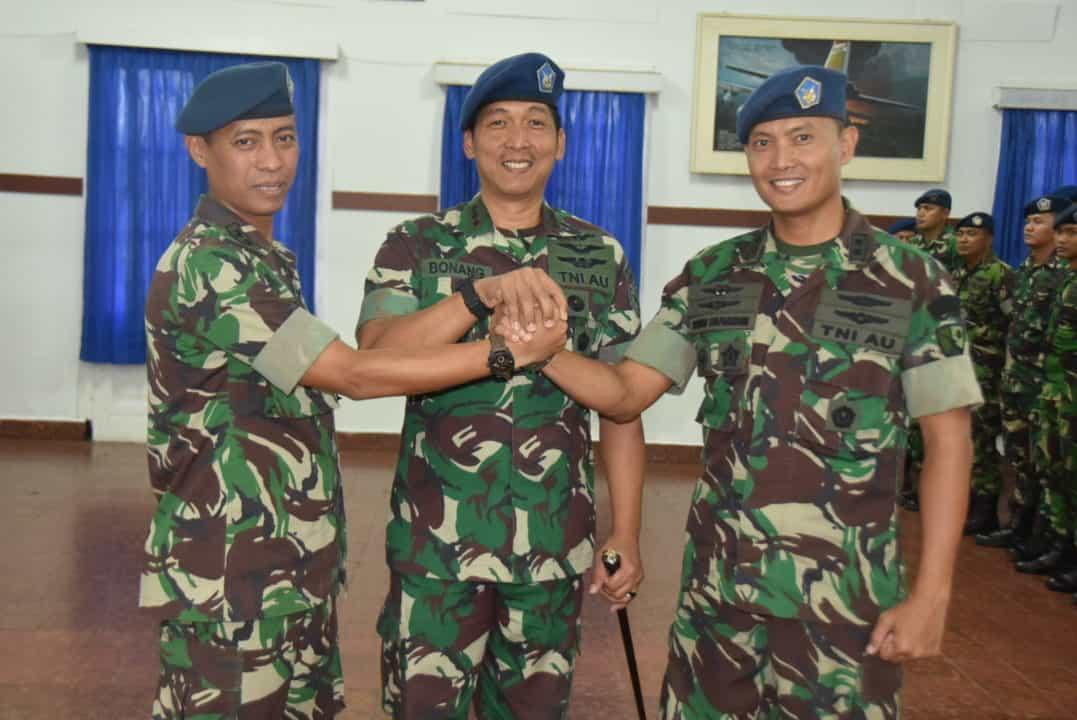 Letkol Adm Ridwan Syaparudin S.E., Jabat Kadispers Lanud Husein Sastranegara