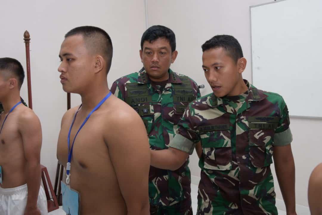 Pelaksanaan Pantukhirda Casis Tamtama PK Gelombang II Tahun 2019 di Lanud Raja Haji Fisabilillah